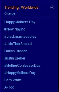 Fans of Legend of the Seeker drove #motherconfessorday to the top ten on May 9, 2010.
