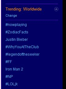 Seeker fans hit the top 10 trends on Twitter