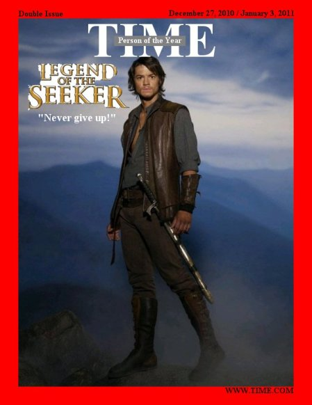 Mockup of Time 2010 Person of the Year issue cover featuring Craig Horner