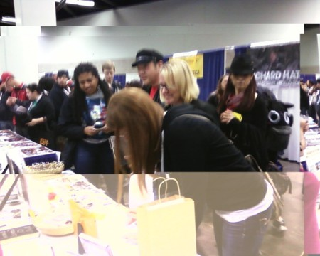Legend of the Seeker fans line up to meet Craig Horner at WonderCon 2012.  Photo courtesy of SaveOurSeeker.com.