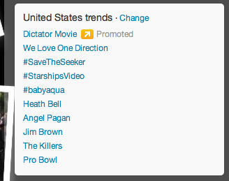 Legend of the Seeker fans hit the number 3 spot on Twitter with #savetheseeker on April 26, 2012.